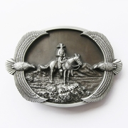 New Original Vintage Cowboy Eagles Western Belt Buckle Gurtelschnalle Boucle de ceinture