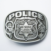 New Vintage Hero Sheriff Law and Order Belt Buckle Gurtelschnalle Boucle de ceinture