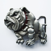 New British Bulldog Animal Metal Belt Buckle Gurtelschnalle Boucle de ceinture