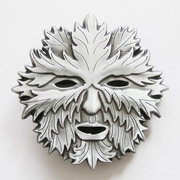 New Vintage Green Man Face Belt Buckle Gurtelschnalle Boucle de ceinture
