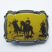 Rodeo Cowboy Western Belt Buckle