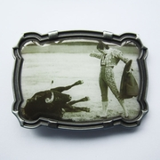 Matador Bullfighter Belt Buckle