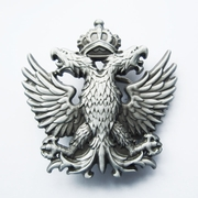 New Original Classic Russia Empire Crown Double-Headed Eagle Belt Buckle