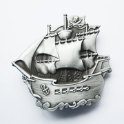 Original Pirate Ship Warship Boat Belt Buckle