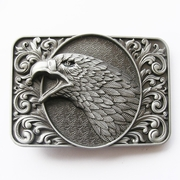 New Vintage Bald Eagle Head Ornate Western Belt Buckle Gurtelschnalle Boucle de ceinture
