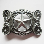 Original New Vintage Western Celtic Keltic Star Belt Buckle Gurtelschnalle Boucle de ceinture