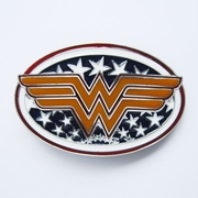 Western Star W Oval Belt Buckle