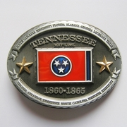 New Vintage Oval Tennessee Flag Belt Buckle Gurtelschnalle Boucle de ceinture BUCKLE-FG017