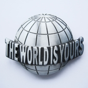 The World Is Yours Belt Buckle