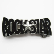 Belt Buckle (Black Rock Star)