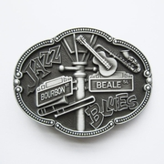 New Vintage Jazz Blues Country Music Belt Buckle Gurtelschnalle Boucle de ceinture BUCKLE-MU070AS