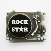 Belt Buckle (DJ Turntable)