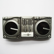 New Vintage CD Turntables Music Belt Buckle Gurtelschnalle Boucle de ceinture BUCKLE-MU014