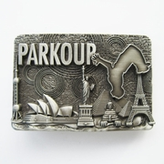 New Vintage Original Le Parkour Runner Young City Sport Belt Buckle Gurtelschnalle Boucle de ceinture