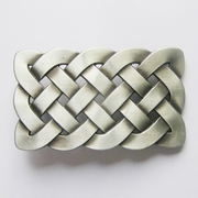 Jeansfriend New Original Cross Celtic Knot Rectangle Vintage Belt Buckle