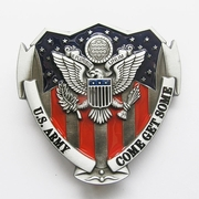 New American Hero US Army Military Belt Buckle Gurtelschnalle Boucle de ceinture