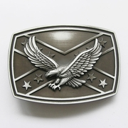 New Vintage 3D Fly Eagle Western Flag Belt Buckle Gurtelschnalle Boucle de ceinture
