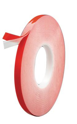 "DOUBLE-SIDED WHITE ATTACHMENT TAPE - 1/2"" x 20 yds. x .045"" (45mil)   6/BOX"