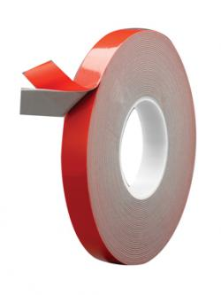 "ULTRA-BOND DOUBLE-SIDED GRAY ATTACHMENT TAPE - 7/8"" x 20 yds. x .045"" (45mil)  6/BOX"