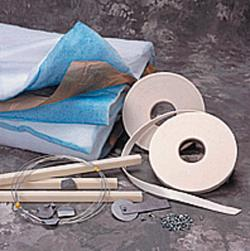 "AFC EXHAUST BLANKET FILTER CONVERSION KIT -  4' X 9'  (CASE OF 2)<BR> <FONT SIZE=""1""><i>[AF5101]</i></FONT SIZE=""1"">"