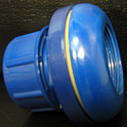 Premier Suction Wall Fitting - Blue