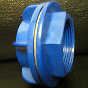 Premier Skimmer Hold Down Wall Fitting - Blue