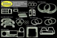 Putco's Fj Cruiser Chrome Interior Kit 33 Piece