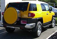 Fj Cruiser Painted Face W/ SS Hard Locking Tire Cover 07-2009