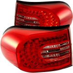 FJ Cruiser LED tail light by CG - Red/Clear 07-2014