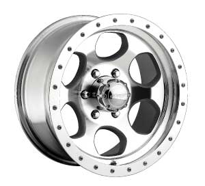 FJ Cruiser Robby Godon 17x8 Machine Wheel
