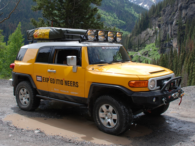& Toyota FJ Cruiser Roof Top Tent Rack EXPEDITION 07-2014