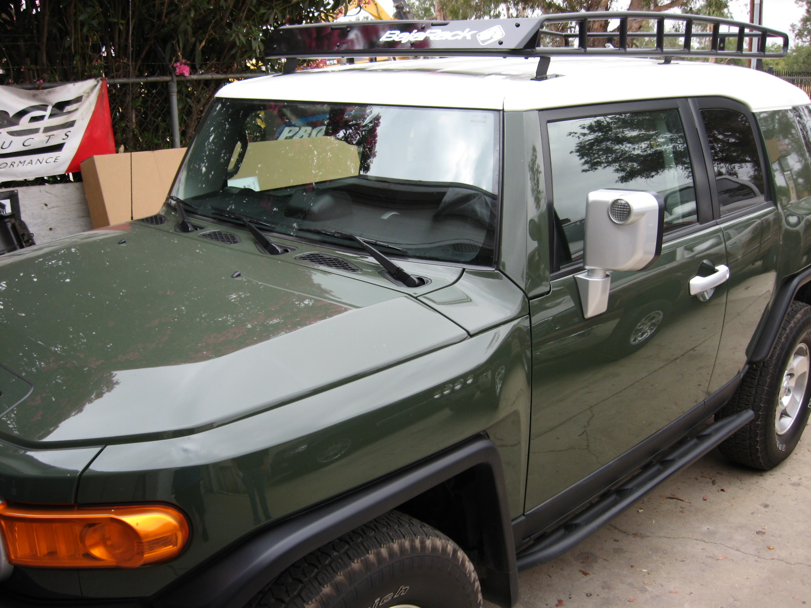 Fj Cruiser Roof Racks : Fj cruiser baja roof rack