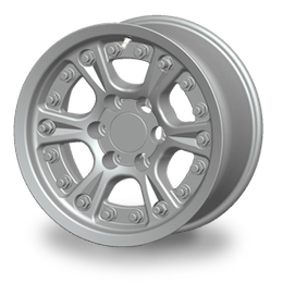 FJ Cruiser Street Legal Bead Lock Wheels