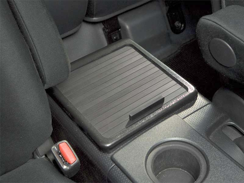 Fj cruiser black roll top console cover 07 2014 for Toyota fj cruiser interior accessories