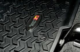 FJ Cruiser Rugged Ridge Front Rubber Floor Mats 07-2011