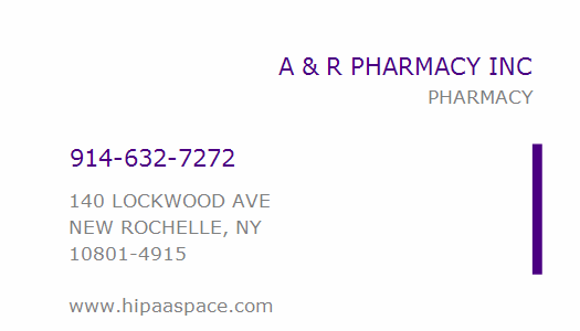 A & R Pharmacy, New Rochelle, NY