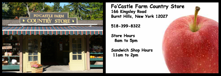 Fo Castle Farms Country Store, Burnt Hills, NY