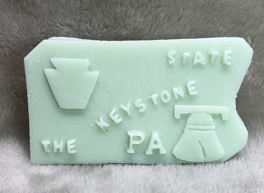 PENNSYLVANIA SHAPE - 4 oz.