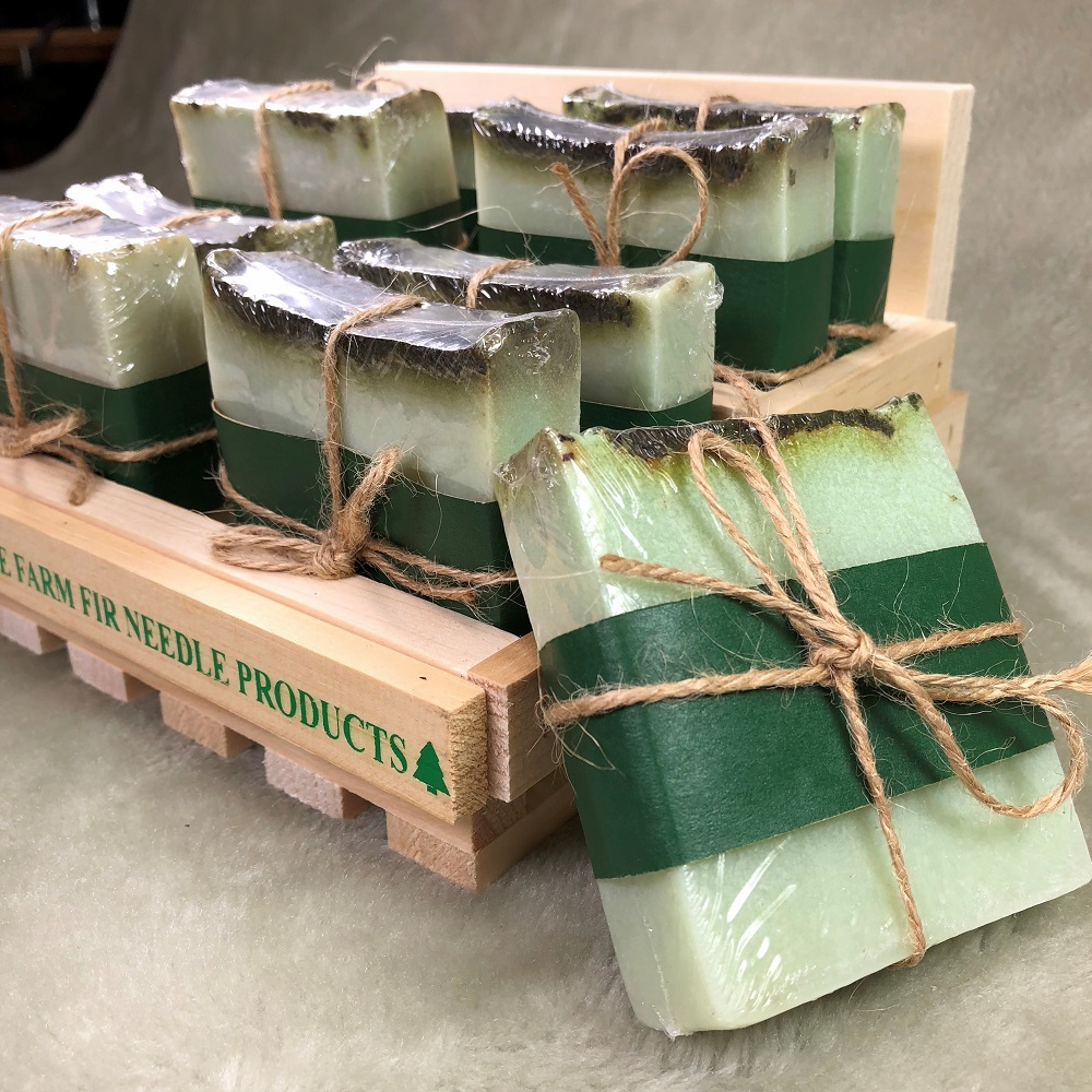 WRAPPED SOAP DISPLAY