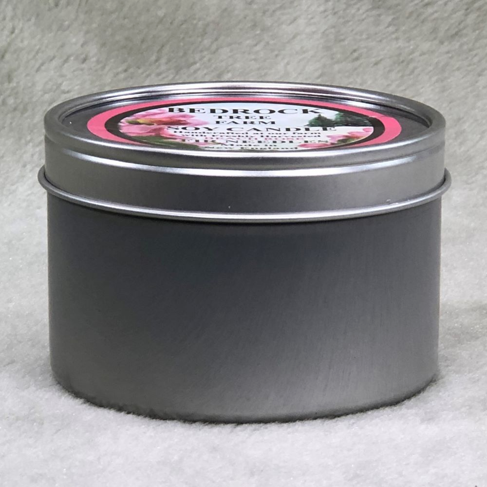 CANDLE TIN 8 oz.