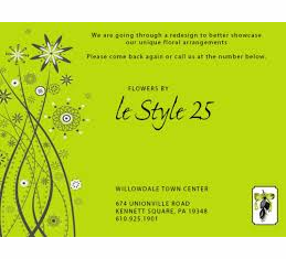 Le Style 25, Kennett Square, PA