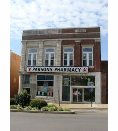 Parsons Pharmacy,  Lewisburg, TN