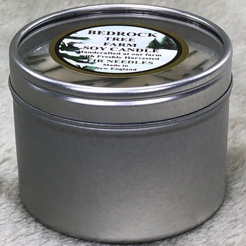 CANDLE TIN 4 oz.