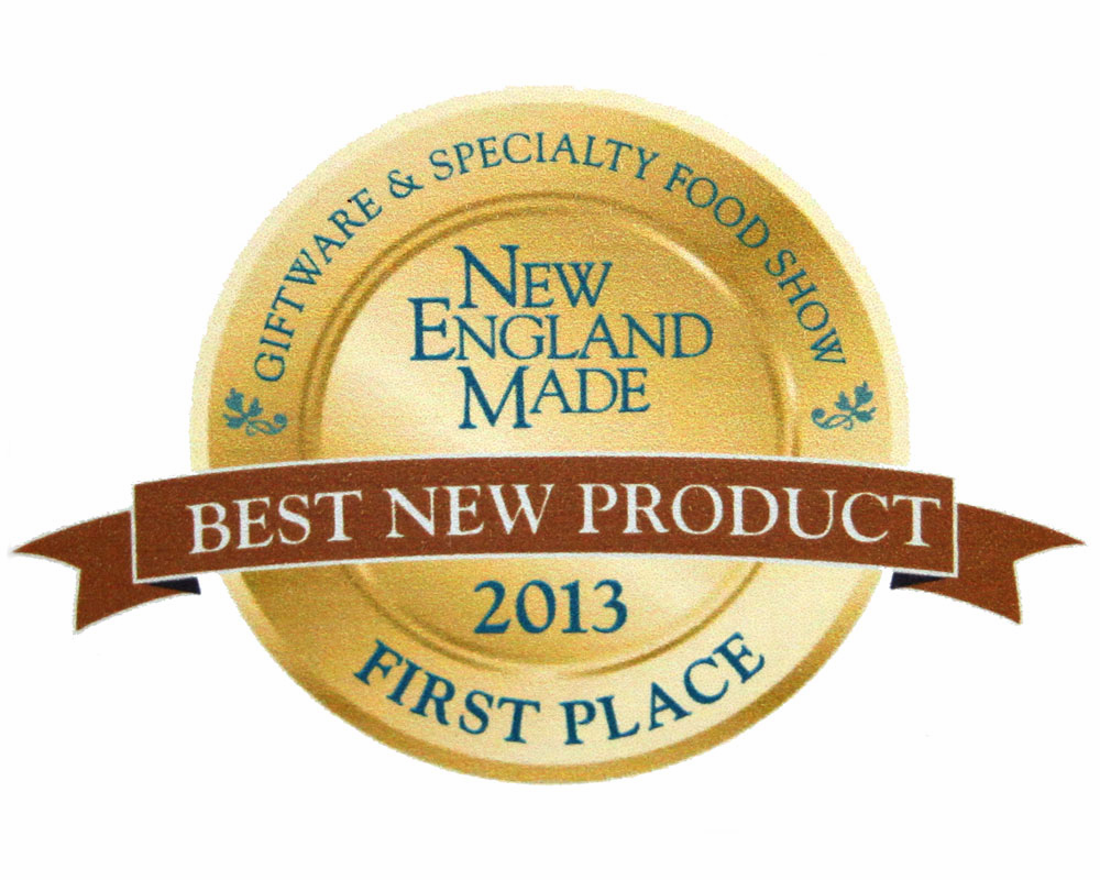 "NEW ENGLAND MADE GIFT AND SPECIALTY FOOD SHOW ""BEST NEW PRODUCT 2013"""