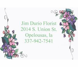 Jim Durio Florist, Opelousas, LA