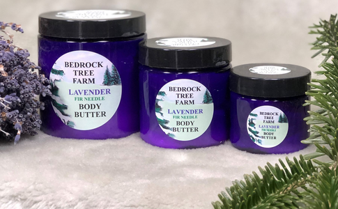 LAVENDER FIR NEEDLE BODY BUTTER