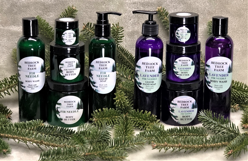FIR NEEDLE AND LAVENDER/FIR BODY CARE PRODUCTS