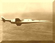 "Douglas X-3 "" Stiletto """