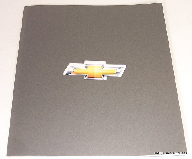 2011 Chevy Corvette Full Line Dealer Sales Brochure Volt Camaro Corvette