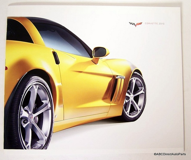 2010 Corvette ZR1 Grand Sport Dealer Sales Brochure